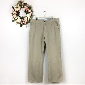 🍍5/$25 Mens BR Boot Cut Flat Front Pants 35x34
